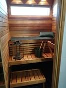 Sauna on lämpöhaapaa