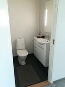 Kaksiossa erillinen wc