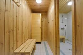 Sauna pukuhuone
