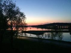 Maisema5 - auringonlasku