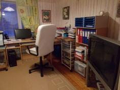 Alakerran mh-/toimistoh.