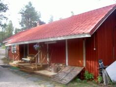 Sauna- ja vajarakennus