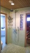 UusiPuoli- pesu-,kylpyhuone ja sauna