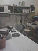 Liiketila 4a. Kahvilan keittiö.