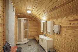 Pesuhuone suihkukaapilla 2 krs