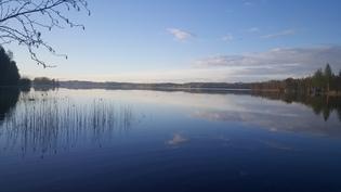 1 km pääsä oleva Simpelejärvi