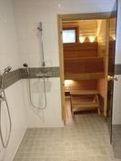 Sauna+pesuhuone