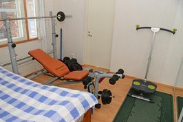 Toisen asunnon makuu-/työhuone