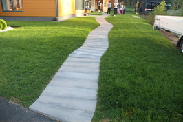 Pihakivet betonia