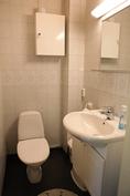 Kodarin wc uudella lattialla