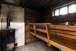 Sauna ja Aitokiuas takaa lempeät löylyt