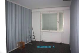 makuuhuone A  pohjakuvassa