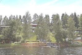 Kiinteistö Joutjärveltä käsin kuvattuna