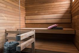 Esimerkkikuva, valmis sauna vakiovarustuksella