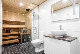 Valitse mieluinen kylpyhuone