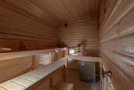 Asunnon sauna