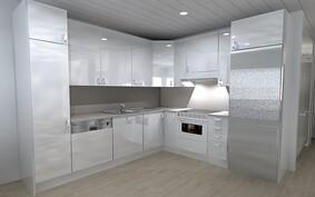 Keittiö 55 m2