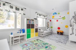 Lastenhuone on vasta remontoitu
