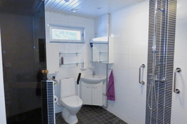 Kylpyhuone päätalossa