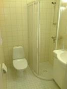 talon toinen wc, jossa suihku