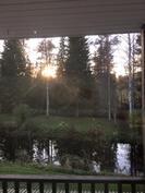 Näkymä olohuoneen ikkunasta
