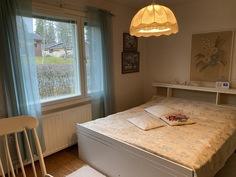 Asuinkerroksen makuuhuone 1