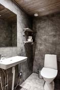 Huoneistossa myös erillinen WC