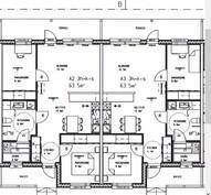 63,5 m² ovat peilikuvia toisilleen