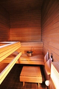 Pohjakerros, sauna
