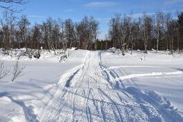 Kelkkareitti Näkkäläjoki