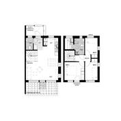 Asunto B4 tarjoaa kahden kerroksen valoa & avaruutta, oman saunan, tilavan terassin ja vehreän pihan