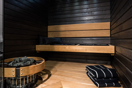 Valitse mieluisesi sauna.