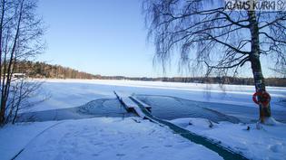 Lamminjärven uimarannan avanto