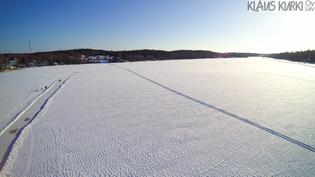 Kalljärven n.5 km pituinen luistelurata