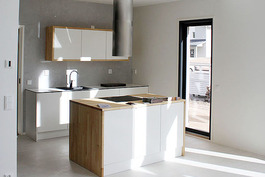 Suunnittele keittiösi. Kuva aikaisemmin valmistuneesta kohteesta.