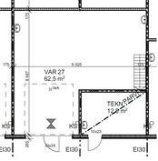 62,5 m²