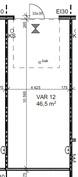46,5 m²