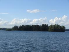 Vähät Saaret, kuva etelästä päin lähestyttäessä