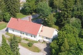 Kuva talosta Krootilankadun puolelta