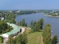 Rivitaloasunto Kokemäenjoen rannalla sopii vaikka kesäpaikaksi