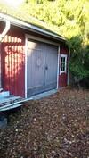 Kuva sauna(autotallirakennuksesta