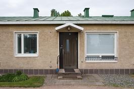 Kuva asunnosta sisääntulon puolelta