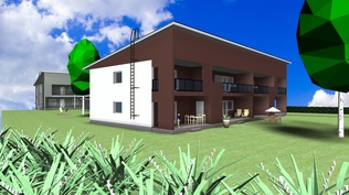 Visualisointikuva A-talo (suuntaa antava)