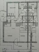 Pohjakuva 2h+k+s, 52 m2 + parvi