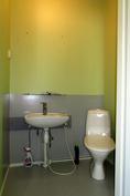 Työhuoneen WC.