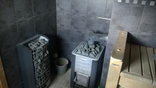 Sauna; puu- ja sähkökiukaat